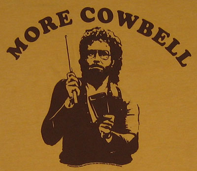More cowbell spacehippieworldwideministries for More com