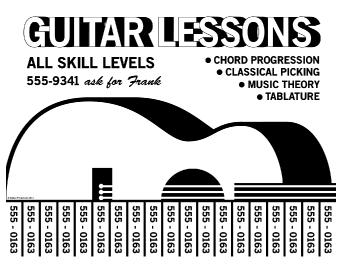 Guitar Flyer