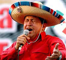 Hugo Chavez Sings