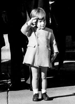 John F. Kennedy Jr. Funeral. Single.