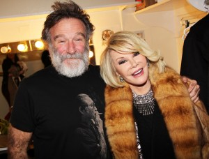 Joan Rivers Visit's